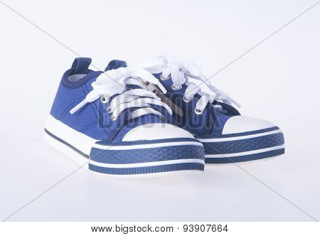 child's shoes on a background