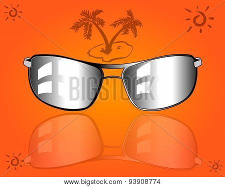 set of sunglasses and eyeglasses