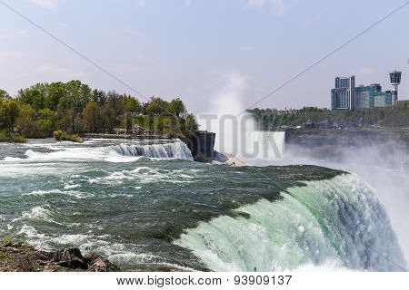 Niagara Falls in New York State