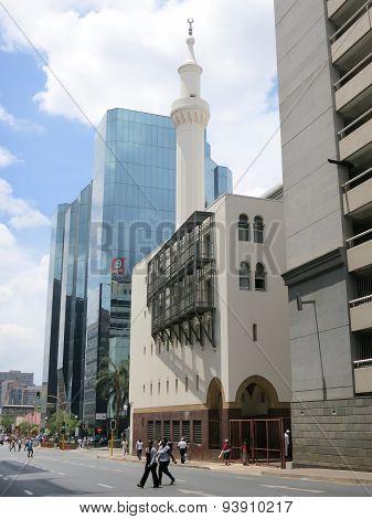Kerk Street Mosque - Johannesburg