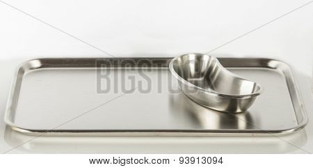 Stainless steel Stomatological tray, Medical tray and kidney tray