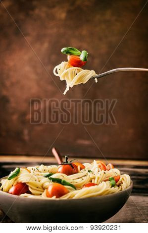 Pasta With Olive Oil