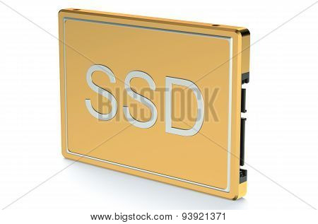 Golden Solid State Drive Ssd