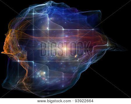 Mind Particle Backdrop
