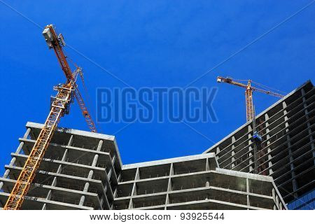 Concrete Construction Site