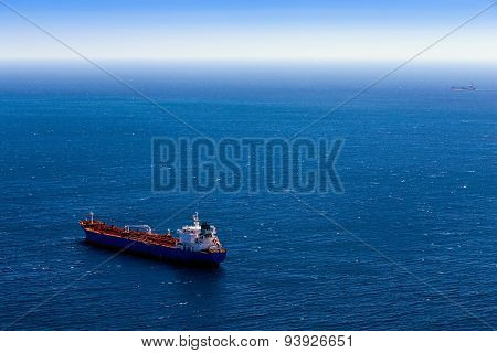 Container Cargo Ship And Vessel