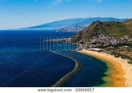 Coast Of Atlantic Ocean And Beach