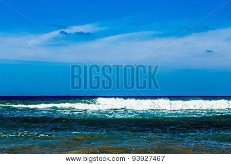 Atlantic Ocean With Waves