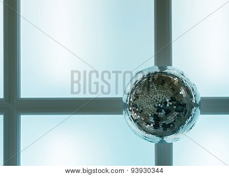Disco Ball On The Ceiling