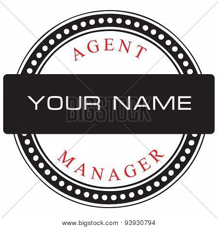 Placing The Name Agent Or Manager