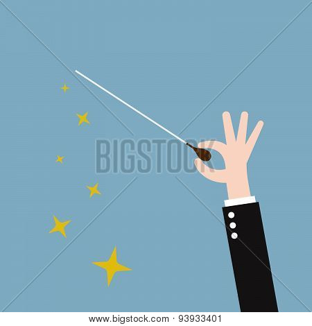 Hand Conductor Baton