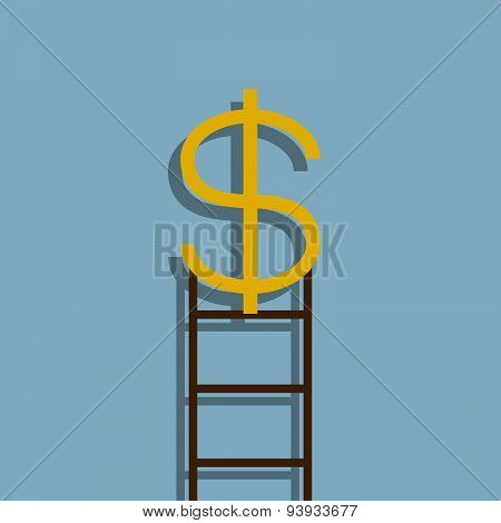 Success Dollar Ladder
