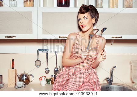 Woman With A Ladle.