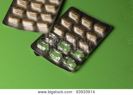 Herbal Remedy Pills In Blister Packs