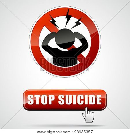 Stop Suicide Sign