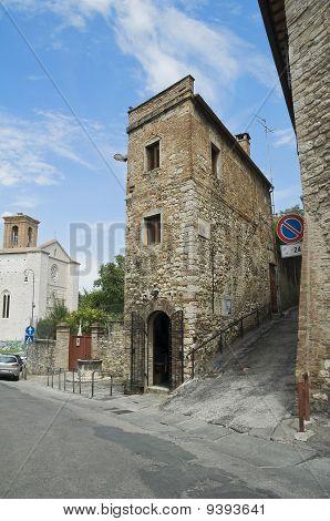 View of Perugia. Umbria.Pan