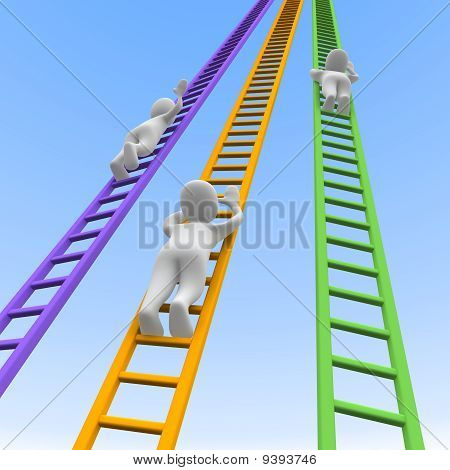 Competition and ladders