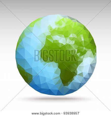 Vector Polygon World Spheres