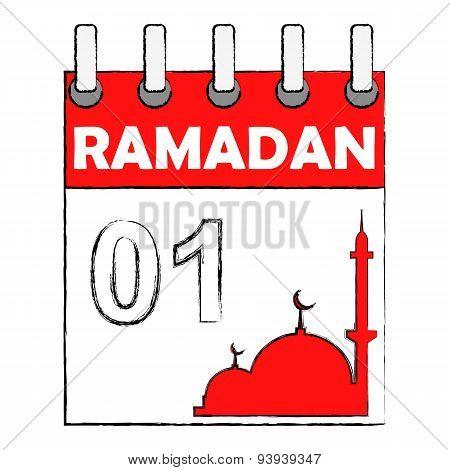 Ramadan start calender date