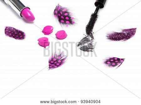 Mascara And Lipstick
