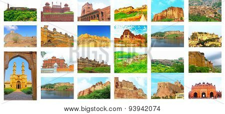 All The Forts In India