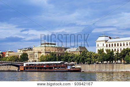 Vltava River, Prague.