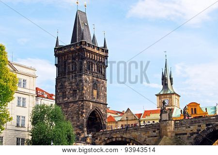 Old Town Bridge Tower, Prague.
