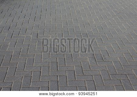 walkway / street flooring - cobble stone tiled