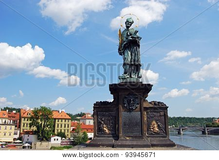 John of Nepomuk Monument, Prague.