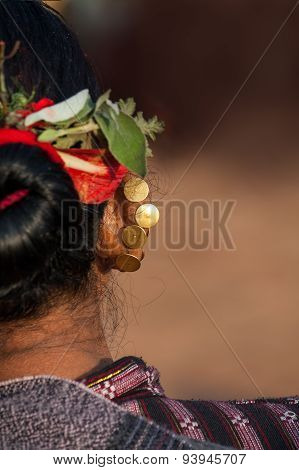 Traditional Newari piercing