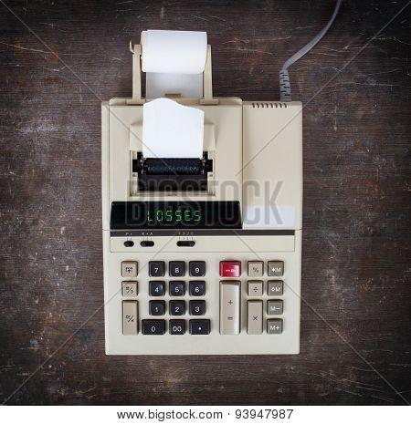 Old Calculator - Losses