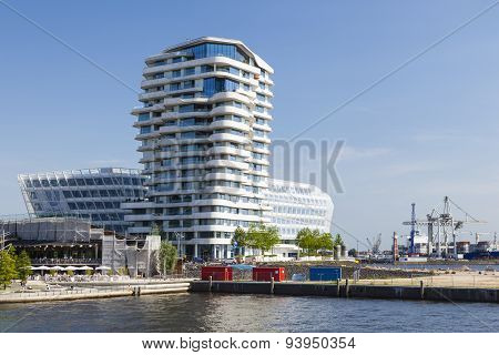 Marco Polo Tower In Hamburg, Germany, Editorial