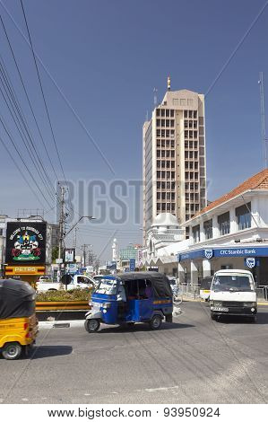 Mombasa Business District, Kenya, Editorial