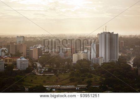 Nairobi Uhuru Park, Kenya, Editorial