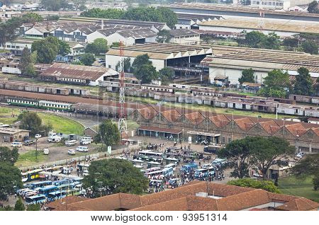 Nairobi Railway Station, Kenya, Editorial