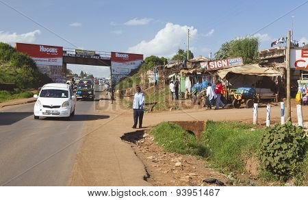 Kikuyu Streets, Kenya, Editorial