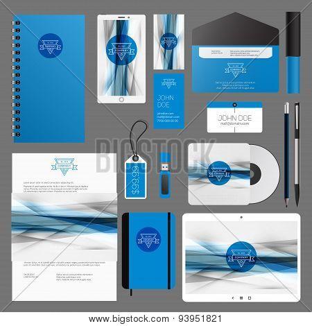 Corporate Identity Vector Template Design