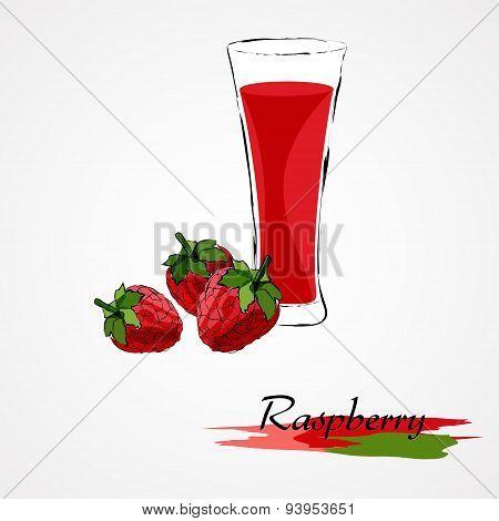 Raspberry juice