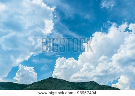 Clouds And Sky In The Nature Reserve Of Lake Baikal