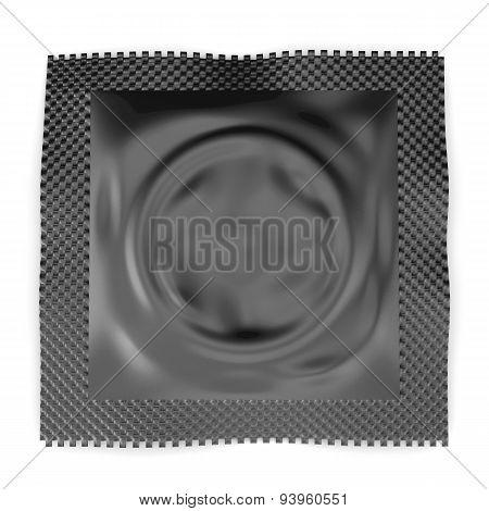 Black Package Condom