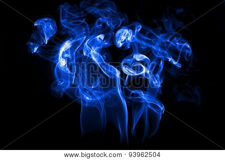 Smoke Isolated With Light