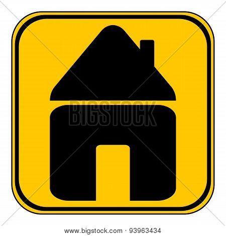Home Symbol Button.