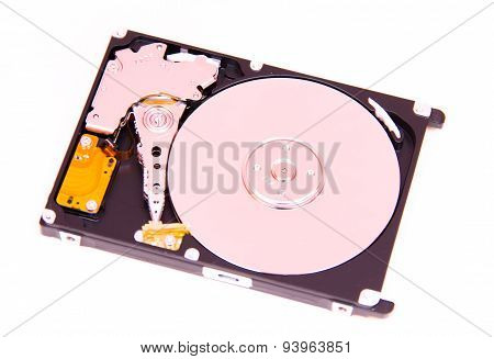 Hard drive from above