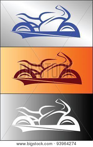 Motorbike logo design 1