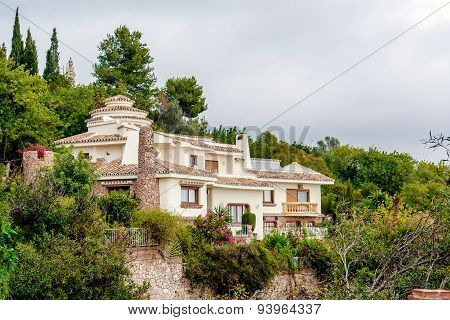 Charming Hillside House. Province Of Malaga,  Costa Del Sol. Spain