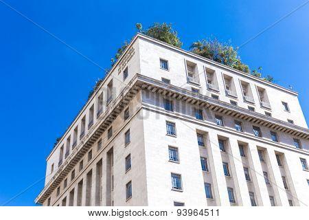 SAO PAULO, BRAZIL - CIRCA JUNE 2015: Sao Paulo City Hall in Sao Paulo, Brazil.