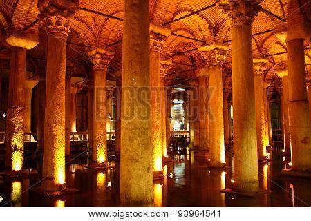 Underground Cistern in Istanbul