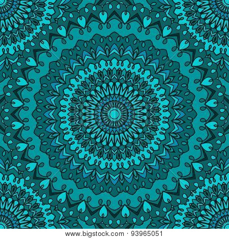 Ornamental Abstract Seamless Lace Background With Many Details