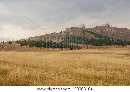 Ai-Petri mountain landscape in Crimea
