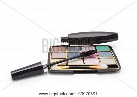Eyeshadow And Mascara